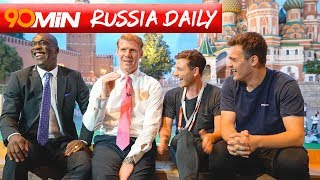 Do England fans need to chill out?! Feat Lalas and Seedorf | 90min Russia Daily