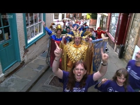 Lip Dub Lincoln - Look North Yorkshire and Lincolnshire - BBC One