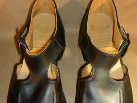 DR. MARTENS WOMENS BLACK LEATHER SANDALS SZ 8 1/2