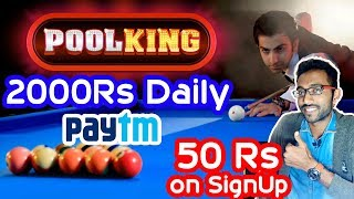 Best App to Earn Real Paytm Cash India | 100% Real | Earning Apps | PoolKing Pro