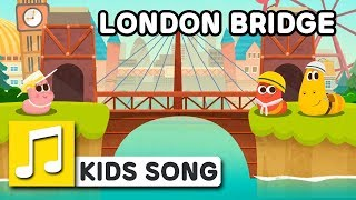 LONDON BRIDGE  | Nursery Rhymes | LARVA KIDS Songs for Children