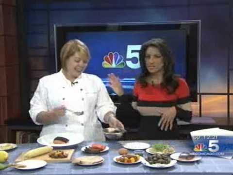 Spiaggia Exec Chef Sarah Grueneberg on NBC Noon News with ...
