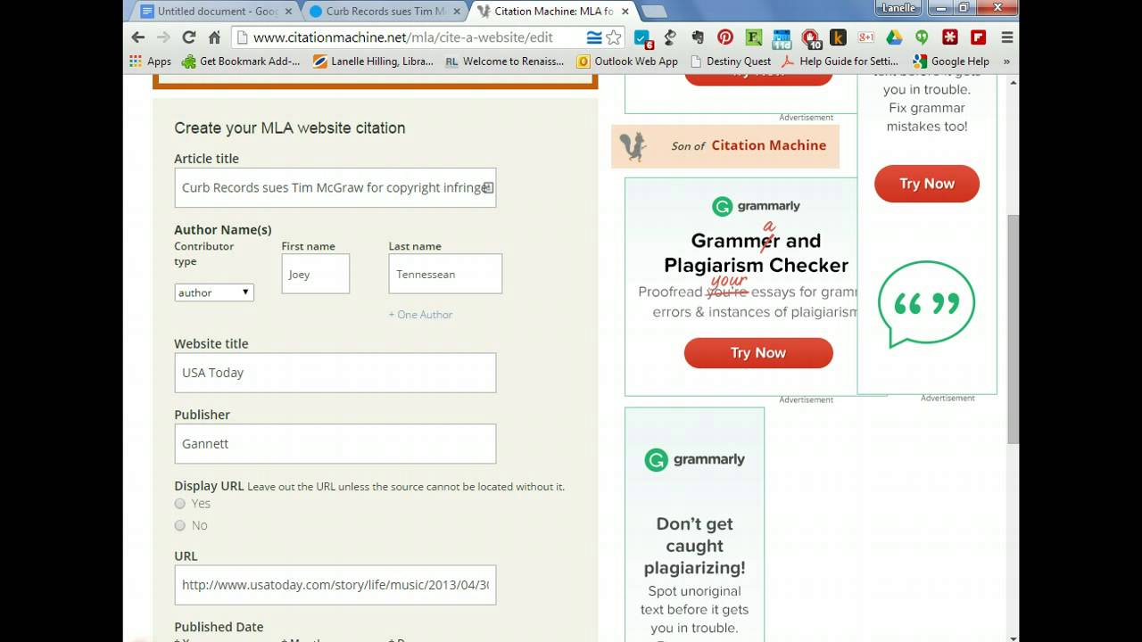 mla format website citation maker Yay, mla format generator with technology on our side, we can now have programs to do the work for us programs can perform very precise works and save us a.