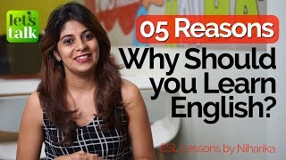 5 Reasons Why Should You Learn English Speak English fluently Confidently Free ESL lessons