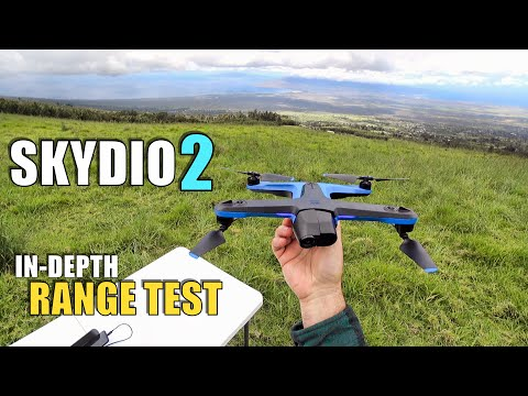 SKYDIO 2 Range Test In-Depth - How Far Will It Go?  Will It Return? (Beacon & Controller!)