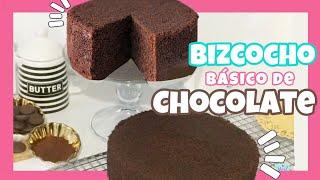 BIZCOCHO DE CHOCOLATE PERFECTO   RECETA DE BIZCOCHO DE CHOCOLATE   NIVEL DELICIA