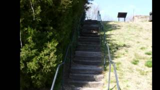 Railroad Tie Stairways Can Be Built By Do-it-yourselfers