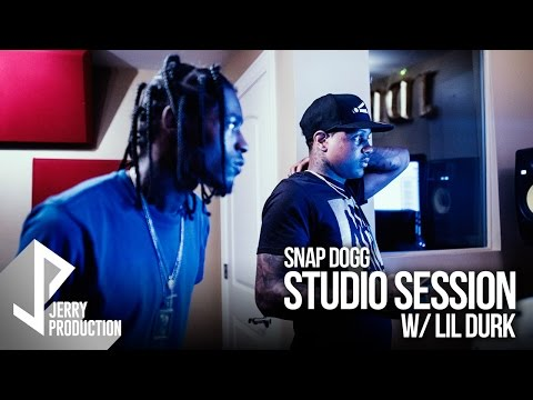 Lil Durk x Snap Dogg (Studio Session Vlog) Shot by @JerryPHD