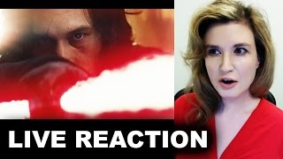 Star Wars The Last Jedi Teaser Trailer REACTION
