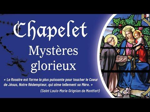 Chapelet - Mystères glorieux.