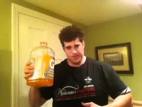 Guy Drinks Gallon of Gatorade in 2 min