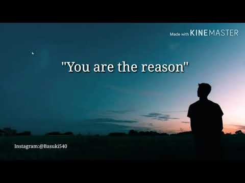 Lagu Barat Sedih/calum Scott-you Are The Reason Lirik