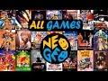 Catálogo Completo de NeoGeo (148 Juegos) - (ALL GAMES)