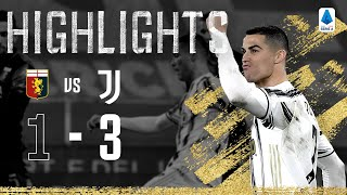 Genoa 1 3 Juventus Ronaldo Scores Twice in 100th Juventus Match Serie A Highlights