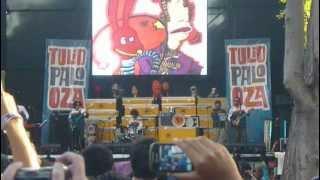31 MINUTOS - MALA/YO NUNCA VI TELEVISIÓN... @ LOLLAPALOOZA CHILE 2012