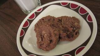 Vegan Oatmeal Chocolate Chip Cookies Recipe - Vegan Mofo Day 3