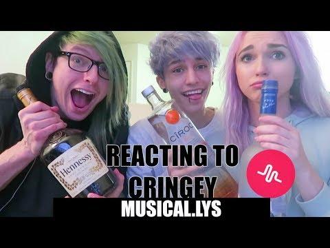 Reacting To Cringey Musical.lys pt 3 With Hair Jordan