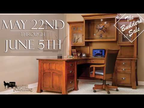 E&G Amish Furniture Builders Sale 30 Second Commercial