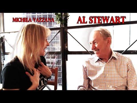 AL STEWART, interview with Michela Vazzana.