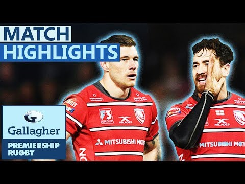 Gloucester 30-24 Saracens | Gloucester Defeat Champions! | Gallagher Premiership - Highlights