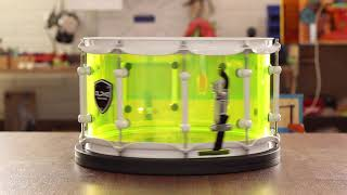 Alpha Custom Drums 7.5 x 14 Neon Snare