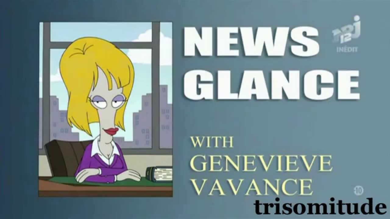 News Glances With Genève Vavance - Amercian Dad