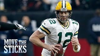 Is the Packers' Aaron Rodgers Still the Best NFL Quarterback? | Move the Sticks | NFL