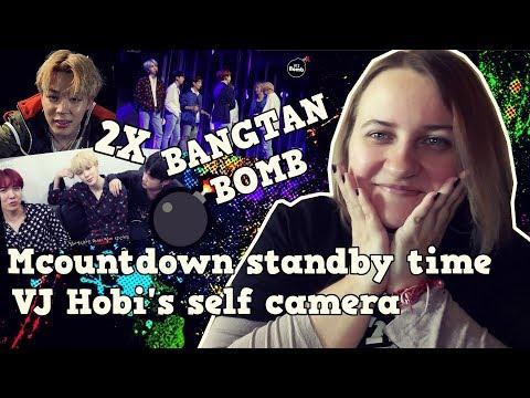 [BANGTAN BOMB] BTS (방탄소년단)  Mcountdown standby time & VJ Hobi's self camera - A.R.M.Y REACTION