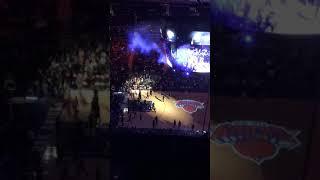 New York Knicks starting lineups- February 25, 2017 Chase Bridges
