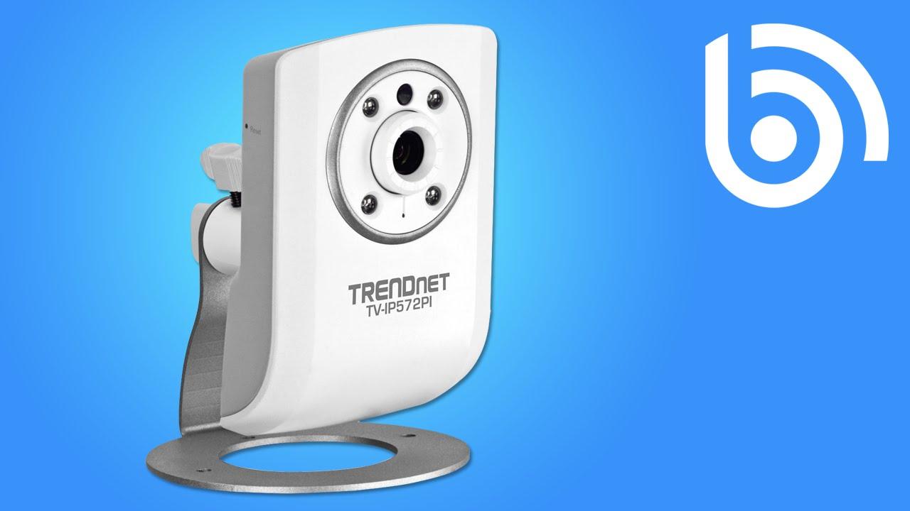TRENDnet TV-IP551WI IP Camera Demo - YouTube