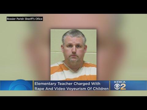 Louisiana Elementary School Teacher Accused Of Child Rape, Video Voyeurism