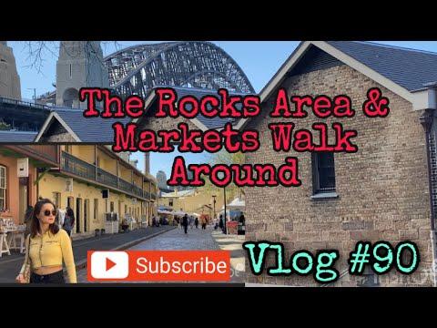 SYDNEY WALK The Rocks & Area Walk Around Sydney Australia Vlog #90