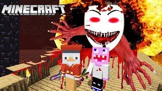 Der böse GAME MASTER.EXE verfolgt uns in Minecraft