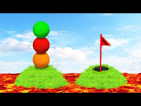 99% IMPOSSIBLE GOLF TRICKSHOTS! (Golf It)