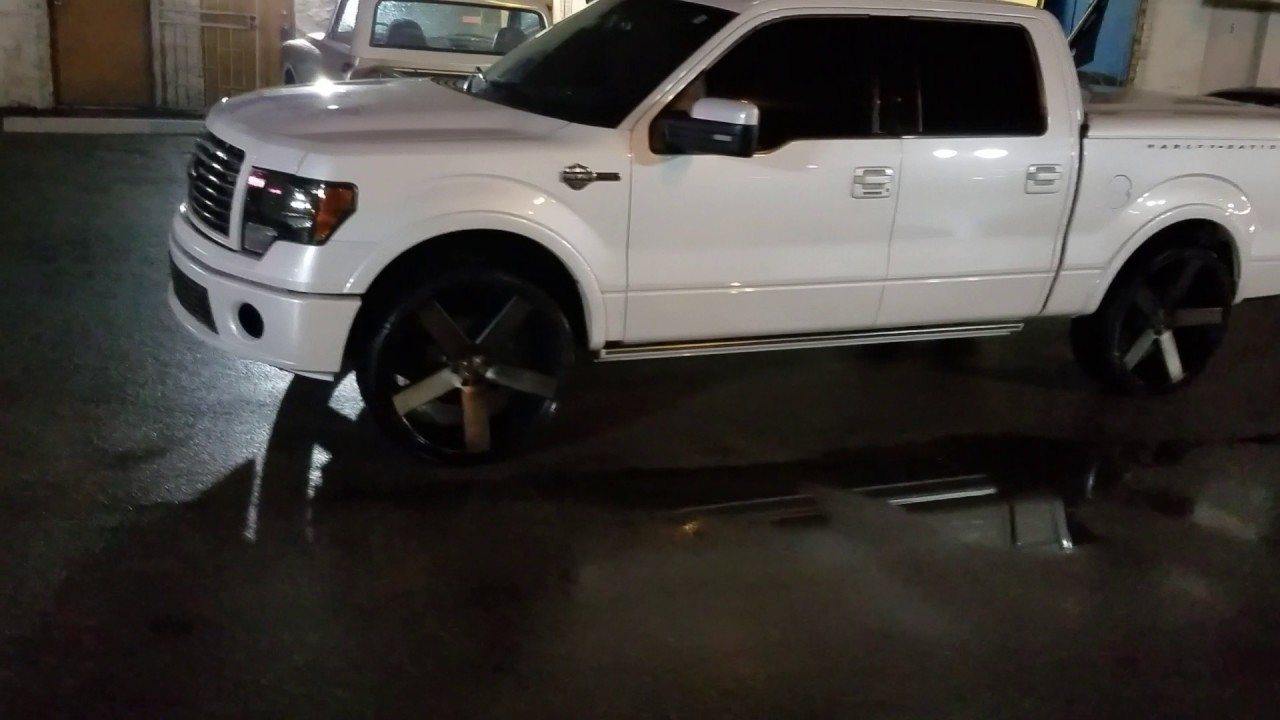 Dubsandtires Com 26 Inch Dub Ballers On Ford F150 Harley