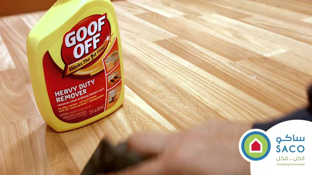 Goof Off Heavy Duty Stain Remover You