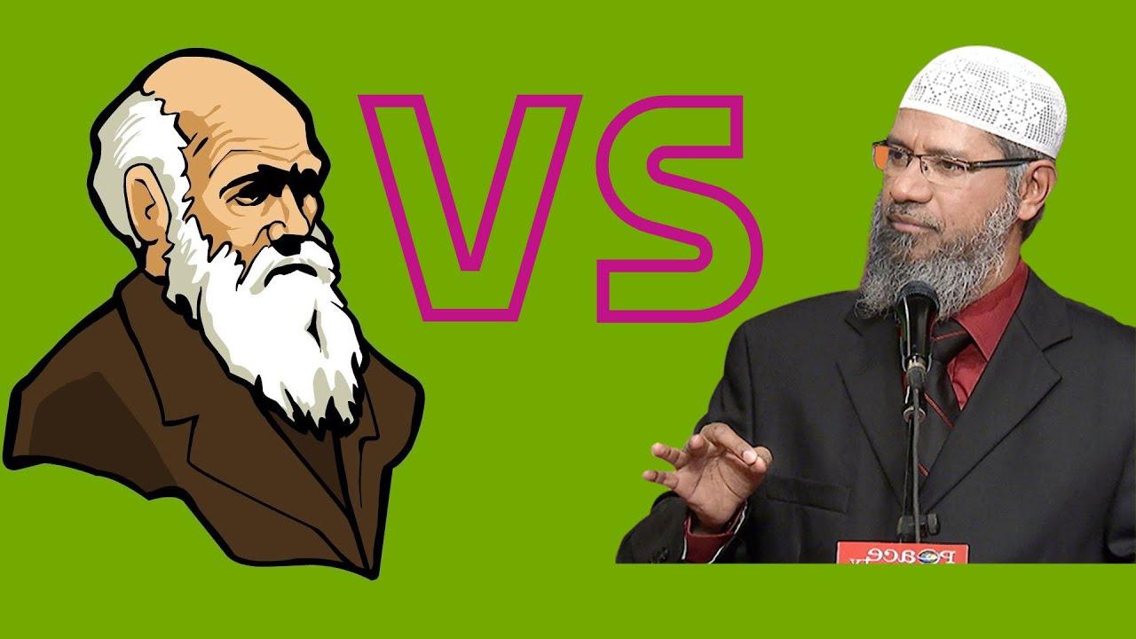 ذاكر نايك والشعبوية في مواجهة نظرية التطور العلمية