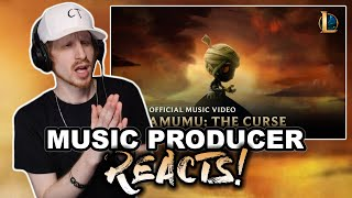 Music Producer Reacts to The Curse of the Sad Mummy - League of Legends