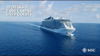 Take a tour on board MSC Seaside, the ship that has changed the wor...