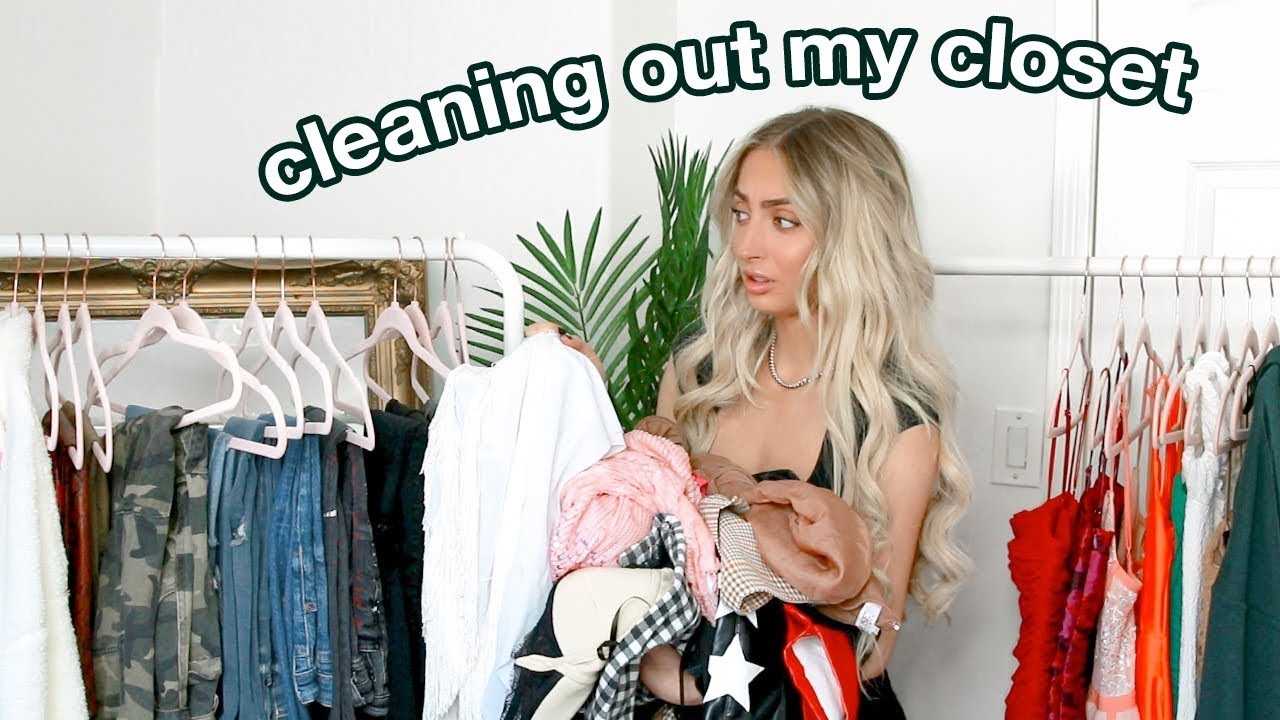 Trying On All The Clothes I Own! Closet Clean-Out