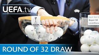 UEFA Europa League round of 32 draw