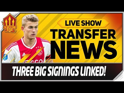 De Ligt, Ndombele, Griezmann! Manchester United Transfer News