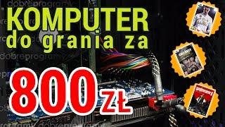 Komputer do grania za 800zł. Płynna gra w Wolfenstein 2 i COD WW2 w Full HD!