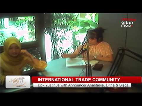 TALKSHOW MALC   INTERNATIONAL TRADE COMMUNITY   6 JUNI 2017