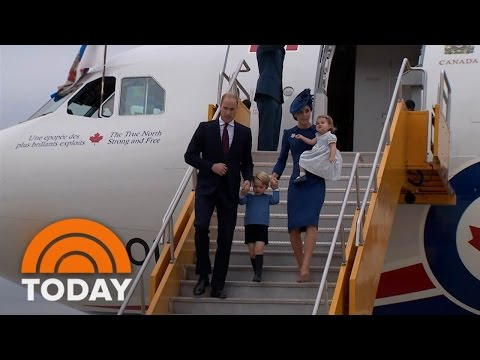 Prince William, Duchess Kate Hear Touching Tribute To Diana During Canada Visit | TODAY