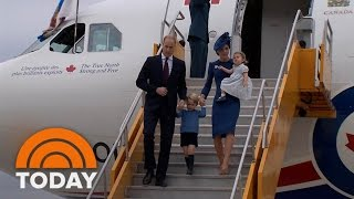 Prince William, Kate Middleton Hear Touching Tribute To Diana During Canada Visit | TODAY