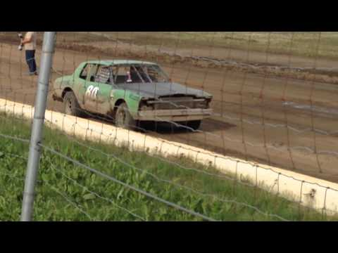 Hobby Stock Trophy July 2014 Capitol Speedway
