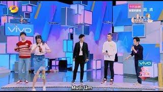 [Vietsub] Mã Khả, Quan Hiểu Đồng, Trương Hiểu Long nhảy múa cực cute - Cut Happy Camp 16/12/2017