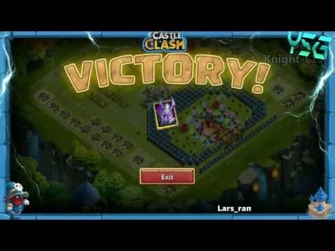 Castle Clash-Winning A Hero From Hero Trials