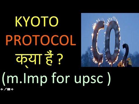 l-80 KYOTO PROTOCOL क्या हैं ?